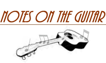 notes on the guitar header