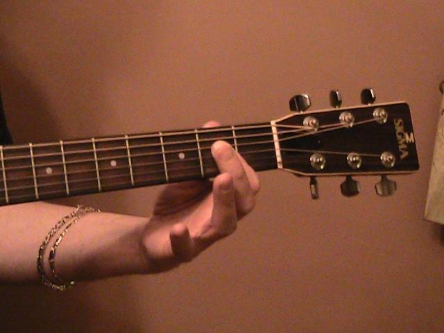 open_a_major_chord